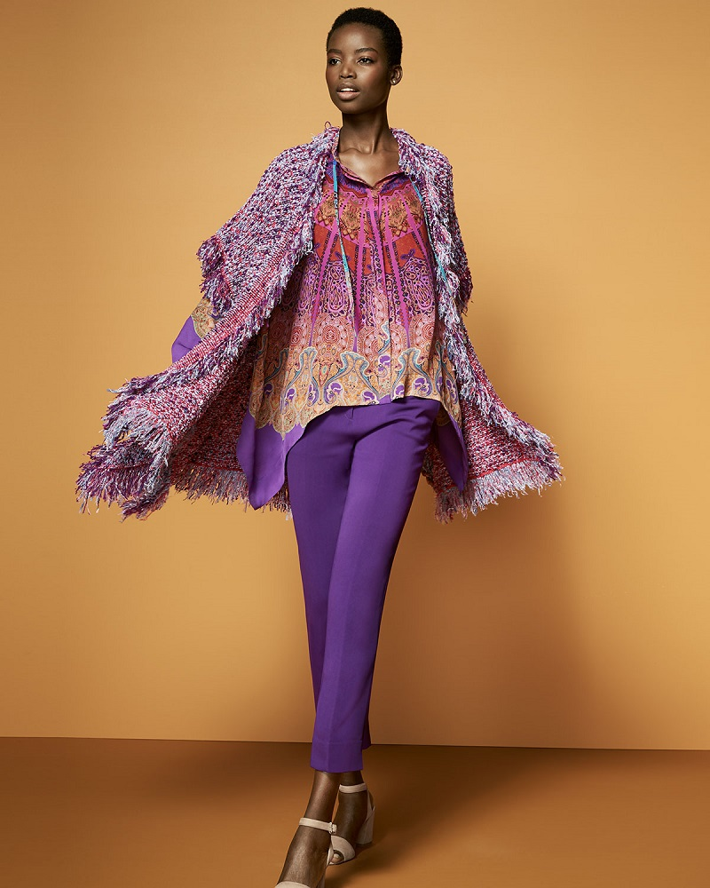 Etro-Boucle-Fringe-Short-Sleeve-Cardigan